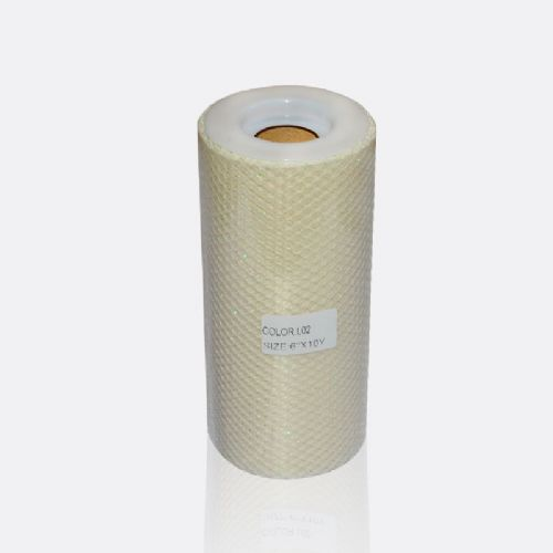 Glitter ivory Washing Netting L 02